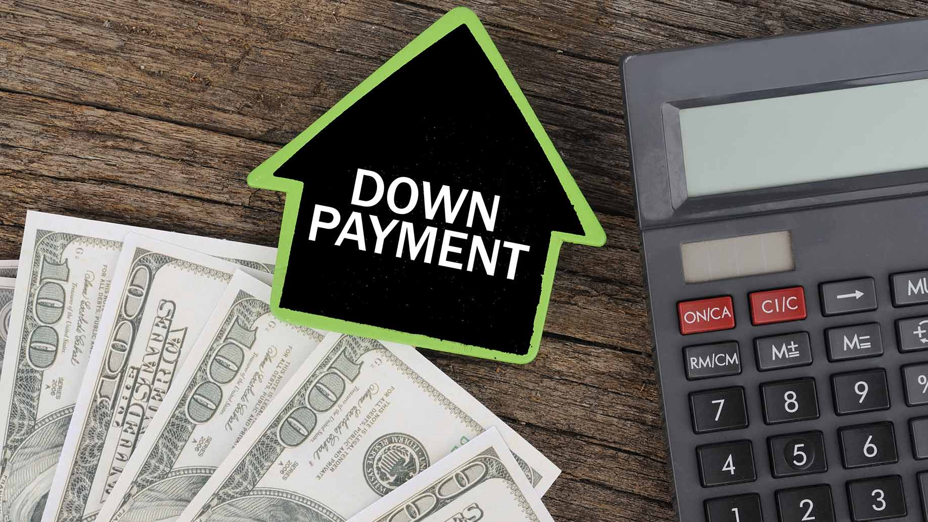 Down Payment For Investment Property